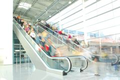 Rolltreppe 1 Lizenzfreies Stockfoto