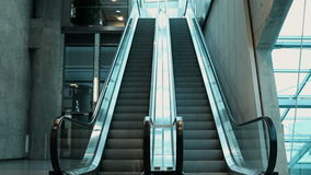 Rolltreppe stock footage