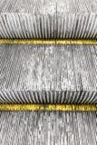 Rolltreppen-Schritt-Hintergrund Lizenzfreie Stockfotografie