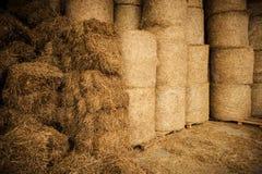 Rolna siano magazynu łatwość zdjęcie stock