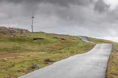 rolna wiatr stacja Fotografia Stock