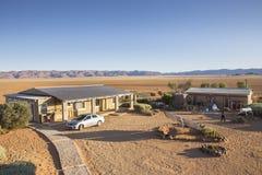 Rolne Gunsbewys i Tiras góry w południowym Namibia Zdjęcia Stock