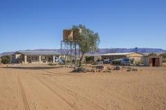 Rolne Gunsbewys i Tiras góry w południowym Namibia Zdjęcia Royalty Free