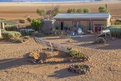 Rolne Gunsbewys i Tiras góry w południowym Namibia Fotografia Royalty Free