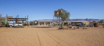 Rolne Gunsbewys i Tiras góry w południowym Namibia Zdjęcie Royalty Free