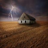 rolnego pola błyskawica Zdjęcie Royalty Free