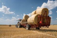 rolnictwo ciągnik Obraz Royalty Free