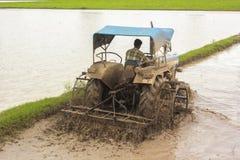rolnictwo ciągnik Zdjęcie Stock
