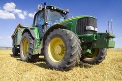 rolnictwo ciągnika Fotografia Royalty Free