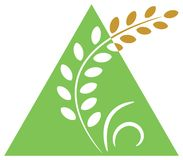 rolnictwo logo royalty ilustracja