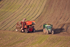 Rolnictwo maszyny Obrazy Royalty Free
