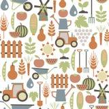 Rolnictwo wzór Zdjęcie Royalty Free