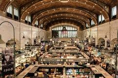 Rolnicy Wprowadzać na rynek Cleveland Ohio fotografia royalty free