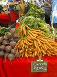 rolnicy wprowadzać na rynek plenerowego Zdjęcia Stock