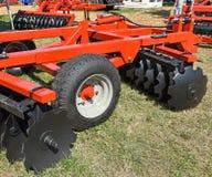 Rolnicza dysk brony maszyneria Zdjęcie Stock
