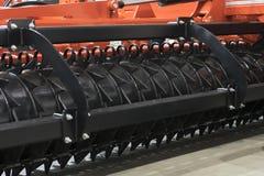 Rolnicza maszyneria w rolniczym jarmarku fotografia royalty free