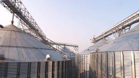 Rolnicza silosu metalu adry łatwość zdjęcie wideo