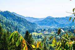Rolnicza ugoda w górach zdjęcia royalty free
