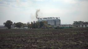 Rolniczy magazynowy plenerowy krajobraz zdjęcie wideo