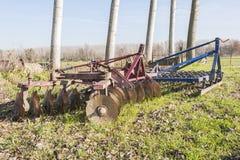 Rolniczy narzędzie, brona Fotografia Stock