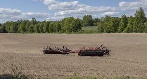 Rolniczy rolownika narzędzie Obraz Stock