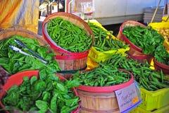 rolników świeży zieleni rynek Obraz Royalty Free