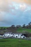 Rolny budynek w młynarki dolinie Fotografia Royalty Free