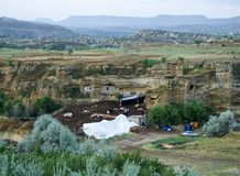 Rolny cappadocia w Urgup obrazy royalty free