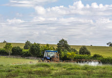 Rolny ciągnik zdjęcia stock