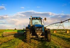 Rolny ciągnik Fotografia Royalty Free