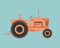 Rolny ciągnik ilustracja wektor
