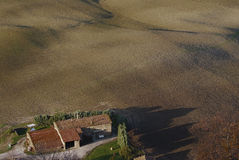rolny dom Zdjęcia Royalty Free