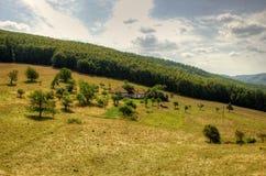 rolny domowy osamotniony Fotografia Royalty Free