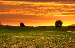 rolny krajobraz obrazy stock