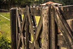 Rolny ogrodzenie Obraz Royalty Free