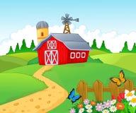 Rolny tło ilustracji