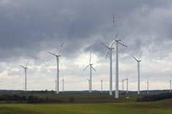 rolny wiatr Zdjęcia Royalty Free