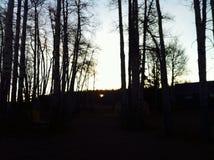 Rolny wschód słońca BC Kanada Obraz Royalty Free