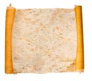 Rolo birchen expandido da casca Fotografia de Stock