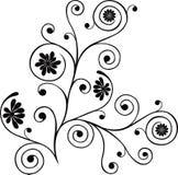 Rolo, cartouche, decoração, vetor Imagens de Stock