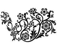 Rolo, cartouche, decoração, vetor Foto de Stock