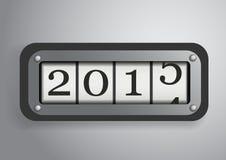 Rolo contrário do ano novo 2015 Imagem de Stock Royalty Free
