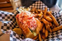 Rolo da lagosta de Maine imagens de stock royalty free