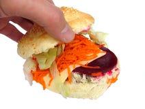Rolo da salada Imagens de Stock Royalty Free