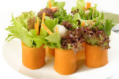Rolo da salada Foto de Stock