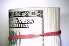Rolo de banknotes4 Fotografia de Stock Royalty Free