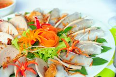 Rolo de mola minted vietnamiano da carne de porco Imagem de Stock Royalty Free