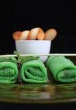 Rolo de mola verde asiático Foto de Stock Royalty Free