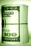 Rolo de notas dos E.U. Imagens de Stock Royalty Free