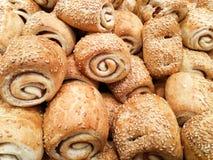 Rolo de pão Imagem de Stock
